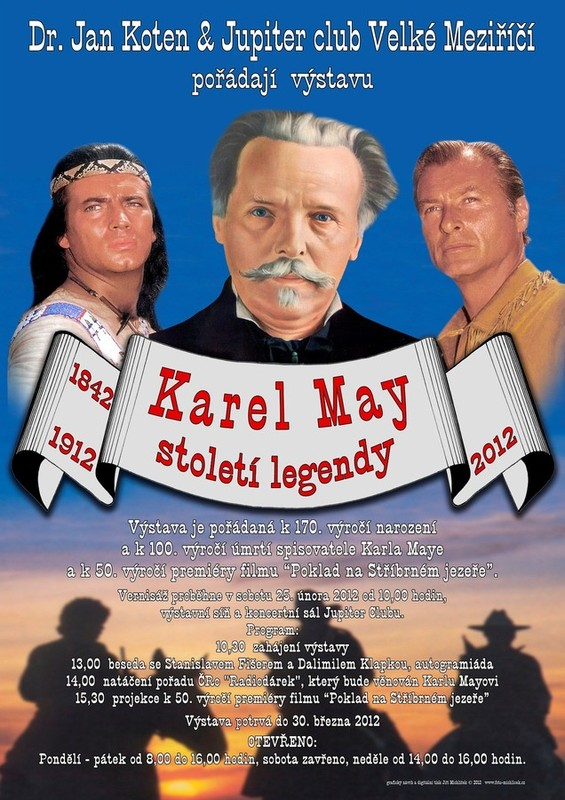 V�stava Karel May - Stolet� legendy